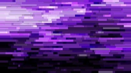 Purple and Black Horizontal Lines Background Vector