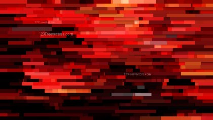 Abstract Red and Black Horizontal Lines Background Vector
