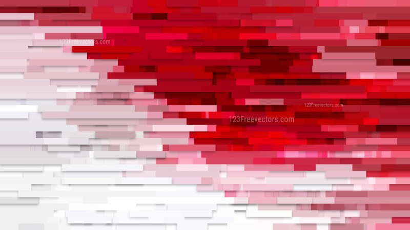 Red and White Horizontal Lines Background