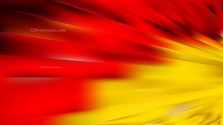Abstract Red and Yellow Lines and Stripes Background