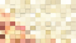 Beige Square Mosaic Background
