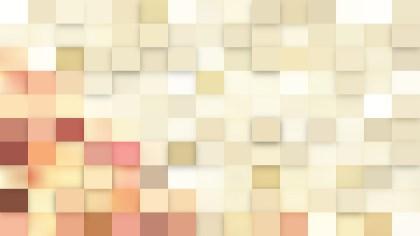 Beige Square Mosaic Background