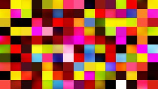 Abstract Colorful Square Mosaic Background