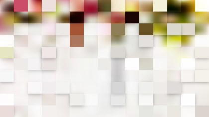 Abstract Light Color Square Mosaic Tile Background