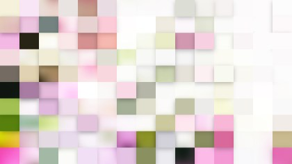 Abstract Light Color Geometric Mosaic Square Background