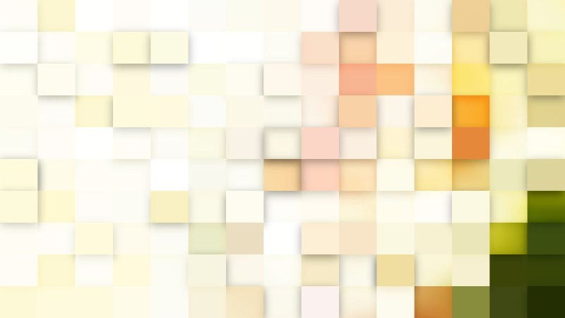Abstract Light Color Square Pixel Mosaic Background
