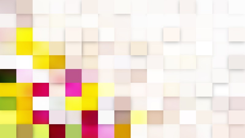 Light Color Square Mosaic Background Vector
