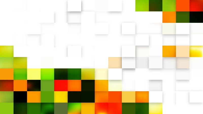 Light Color Geometric Mosaic Square Background Graphic