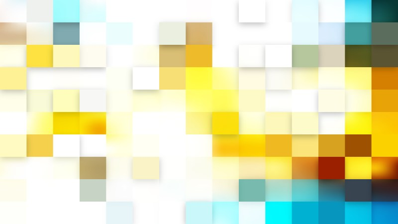 Light Color Square Pixel Mosaic Background Illustration