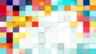 Abstract Light Color Square Mosaic Background Design