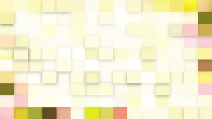 Abstract Light Color Square Pixel Mosaic Background Vector Image