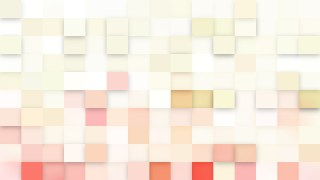 Light Pink Square Mosaic Tile Background