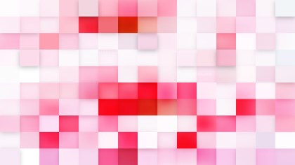 Light Pink Geometric Mosaic Square Background