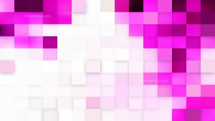 Light Purple Square Mosaic Background Vector Graphic