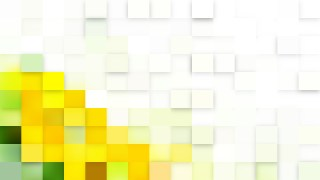 Light Yellow Square Mosaic Tile Background Vector Image