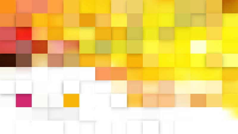 Light Yellow Geometric Mosaic Square Background Illustrator