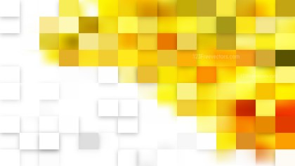 Light Yellow Square Pixel Mosaic Background Vector Illustration