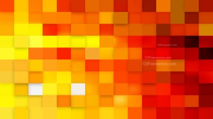 Abstract Orange Square Mosaic Tile Background Vector Art