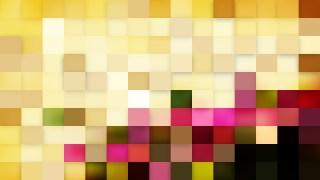 Pink and Beige Square Mosaic Tile Background Illustration