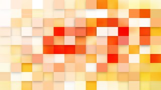 Abstract Pink and Yellow Square Mosaic Background Graphic