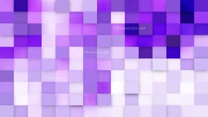 Violet Square Pixel Mosaic Background Vector Image