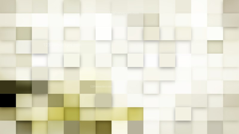 Abstract White Square Mosaic Background Illustrator