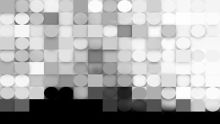 Black and White Circles and Squares Background