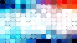 Light Color Circles and Squares Background
