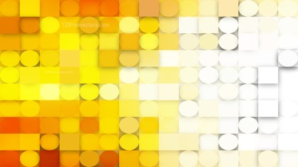 Light Orange Geometric Circles and Squares Background