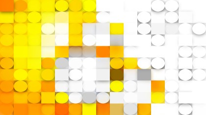 Abstract Light Orange Circles and Squares Background