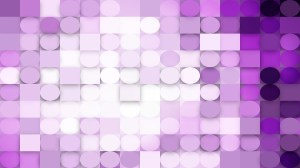 Abstract Light Purple Geometric Circles and Squares Background