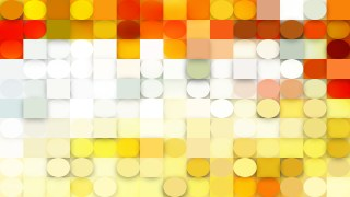 Light Yellow Geometric Circles and Squares Background Image
