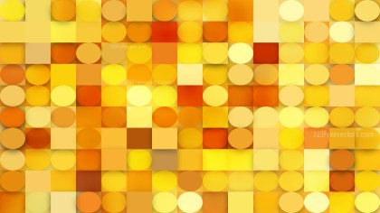 Abstract Red and Yellow Circles and Squares Background Illustrator