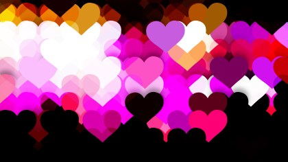 Dark Color Valentines Day Background Illustrator