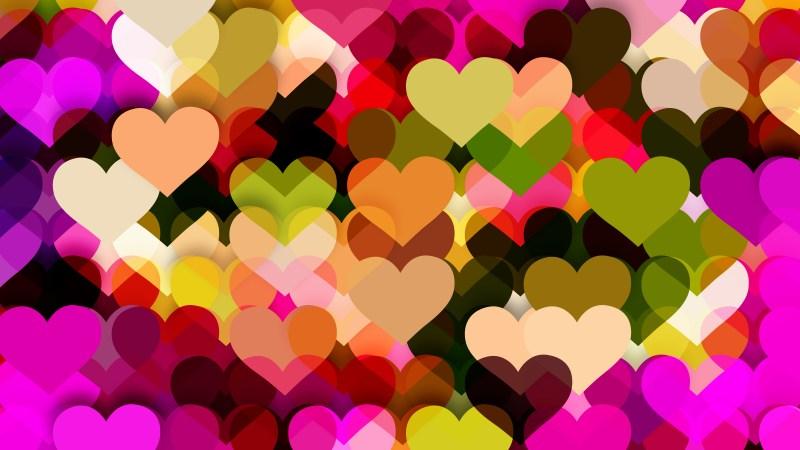 Dark Color Valentine Background Vector