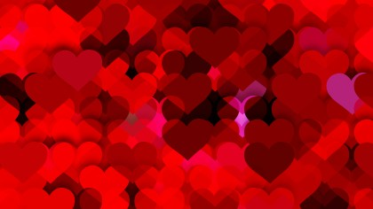 Dark Red Valentines Background Vector Art