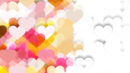 Light Color Heart Background