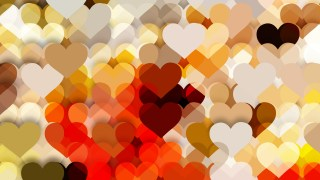 Light Color Heart Background Vector