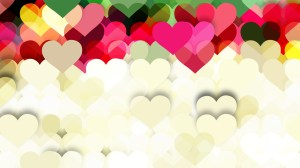 Light Color Valentines Day Background Graphic