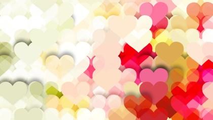 Light Color Valentines Background Illustration