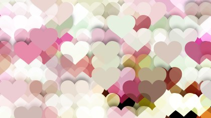 Light Color Valentine Background Design