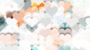 Light Color Heart Background