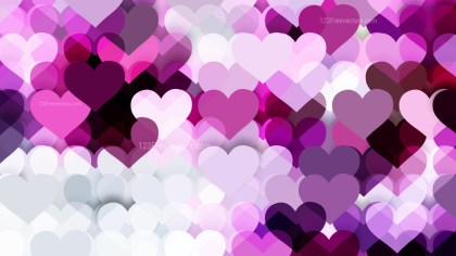 Light Purple Valentines Background