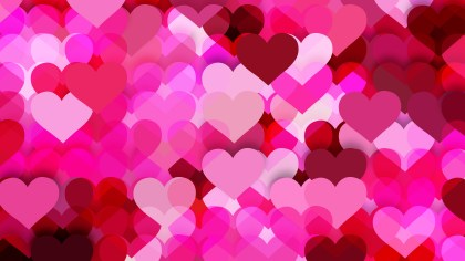 Pink Valentines Day Background