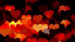 Red and Black Valentines Background