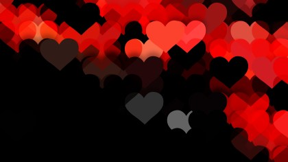 Cool Red Valentine Background