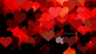 Cool Red Love Background