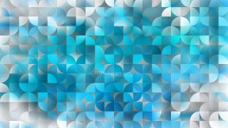 Blue Abstract Quarter Circles Background Vector Art