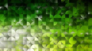 Green and Black Quarter Circles Background