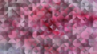 Pink Abstract Quarter Circles Background Vector Art